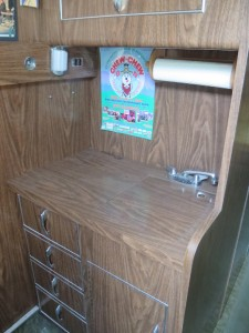 18 Galley sink & storage